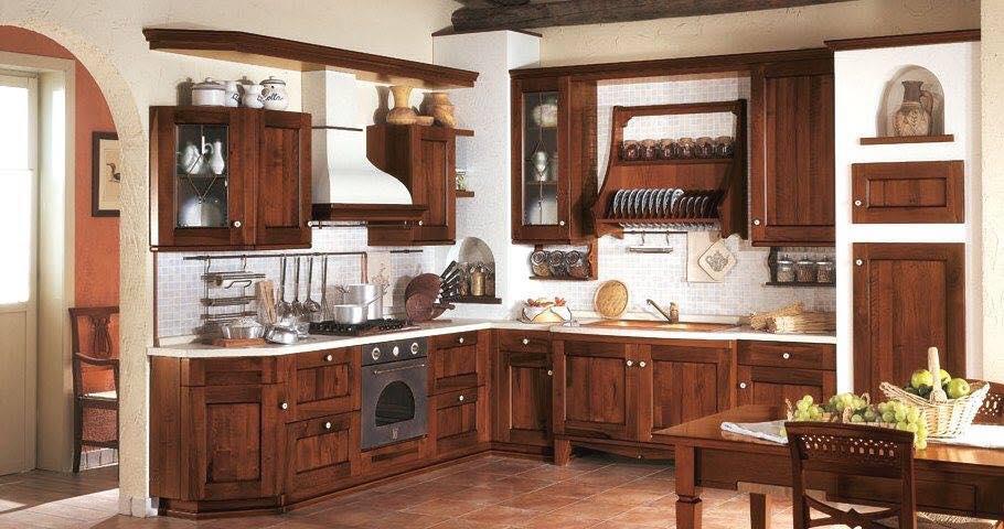 Decoraci n y dise os de cocinas tradicionales y modernas for Cocinas tradicionales