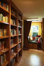Cozy Home Library Reading Nook