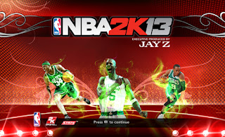 NBA 2K13 Boston Celtics Title Page Patch