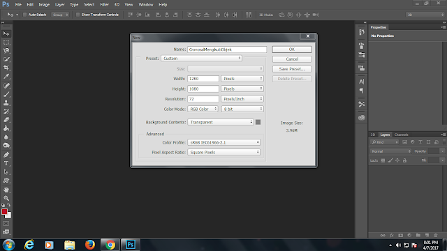 photoshop,teks mengikuti objek,shapes,new layer