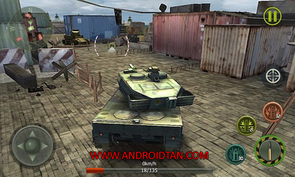 Free Download Tank Strike 2016 Mod Apk v1.5.4 (Unlimited Money) Android Terbaru 2017