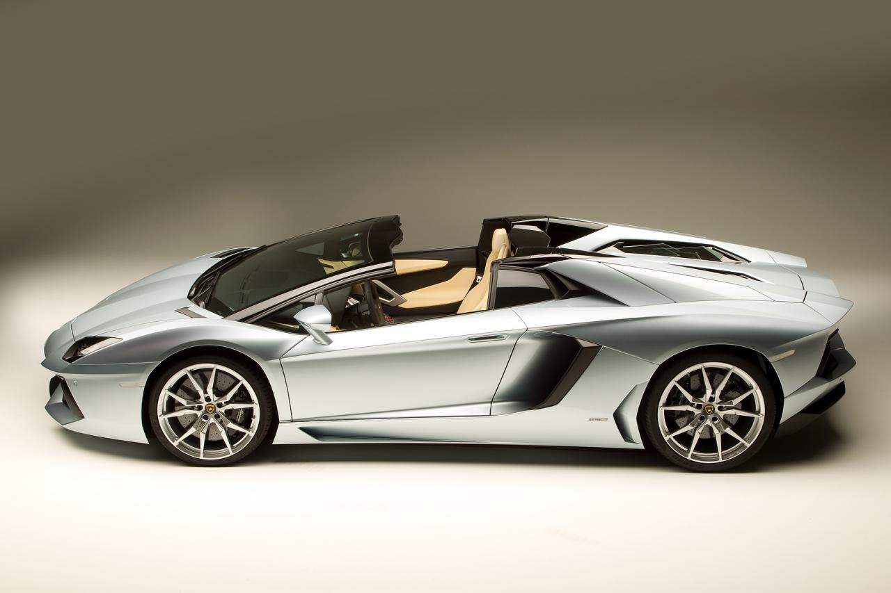 Lamborghini Aventador Roadster is powered by a 6 5-lt V12engine with    Lamborghini Aventador Roadster