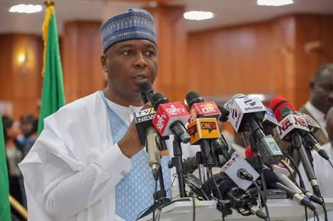 Saraki: Those Who Plotted DSS Invasion Of NASS Are Cowards