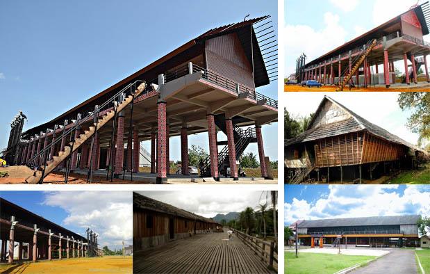 Gambar Rumah Adat Kalimantan Barat