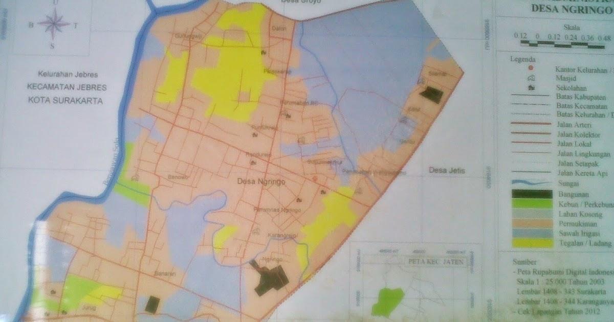 Peta Batas Administrasi ~ PEMERINTAH DESA NGRINGO
