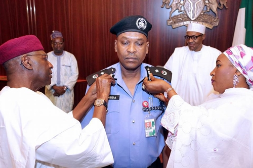 Buhari's Chief Personal Security Officer Promoted & Decorated