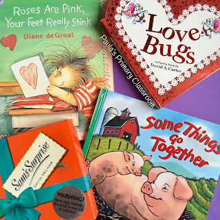 Here's Hoping you have a Wonderful Valentines Day: books, activities and ideas from Paula's Primary Classroom