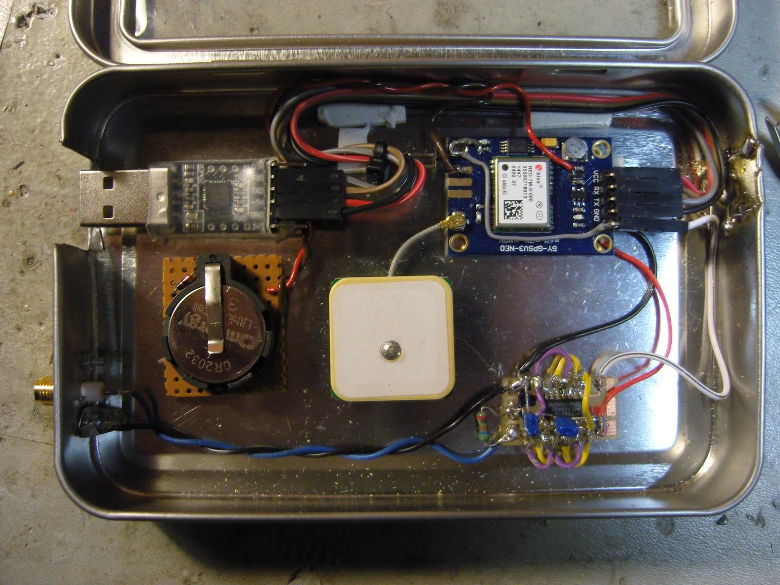 LA3ZA Radio & Electronics: Curing amnesia in the 10 MHz GPS reference