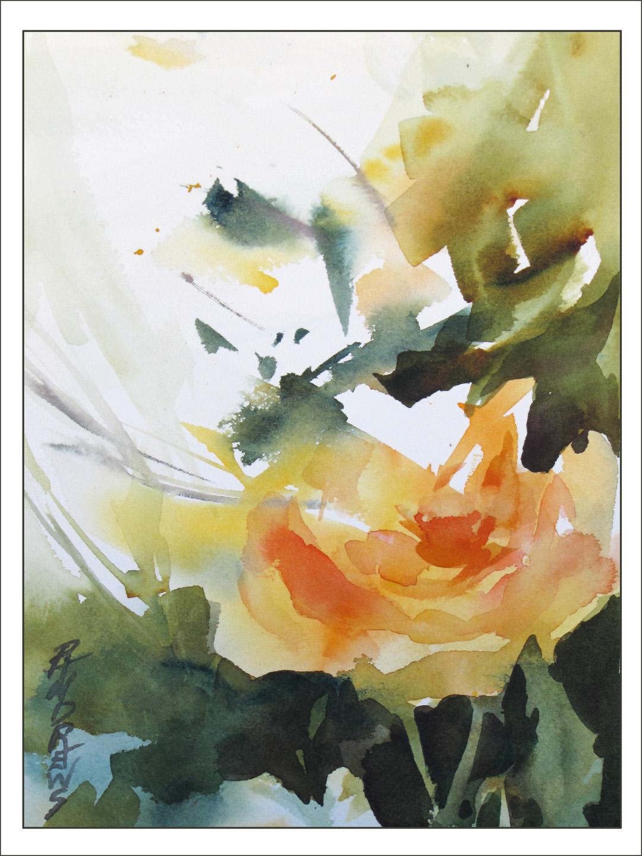 Watercolor artists in texas - Watercolor Texas Artist Rae Andrews