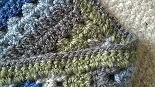 Tina's Allsorts, Woodland Walk Blanket