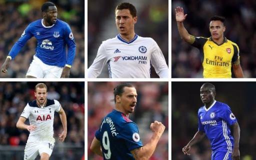 N'golo Kanté, Eden Hazard and Zlatan Ibrahimovic nominated for 2016/017 PFA Player of the Year award
