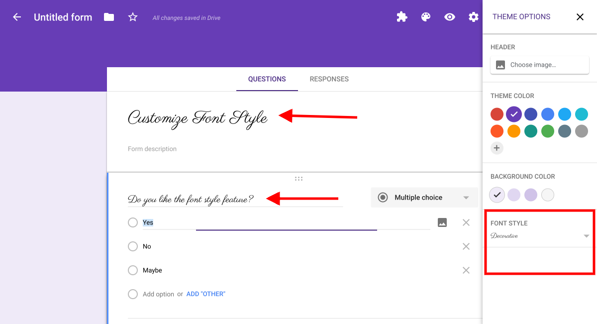 The Tech Lady : New Formatting Features of Google Forms