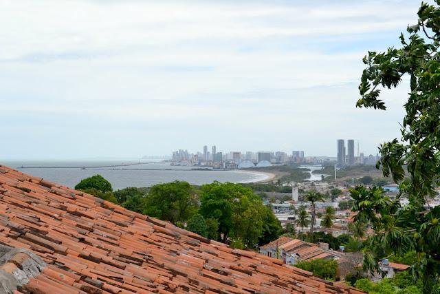 Brésil, Recife, Olinda,voyage avec enfants, Olinda, églises, Igresa da Sé, torre de agua, où dormir, où manger, requin, baignade interdite, Albergue de Olinda, Amporio, aéroport, métro, bus