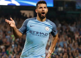 Sport: Aguero equals Manchester City's all-time goal record