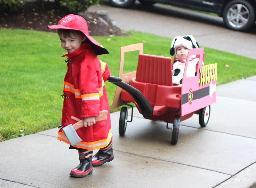 Fireman  Fire Dog  Fire Truck Halloween Costume