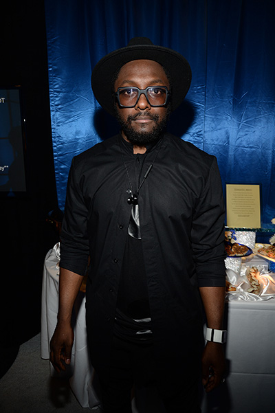 WILL.I.AM at the party Think It Up