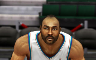 NBA 2K13 Karl Malone Cyber Face Patch
