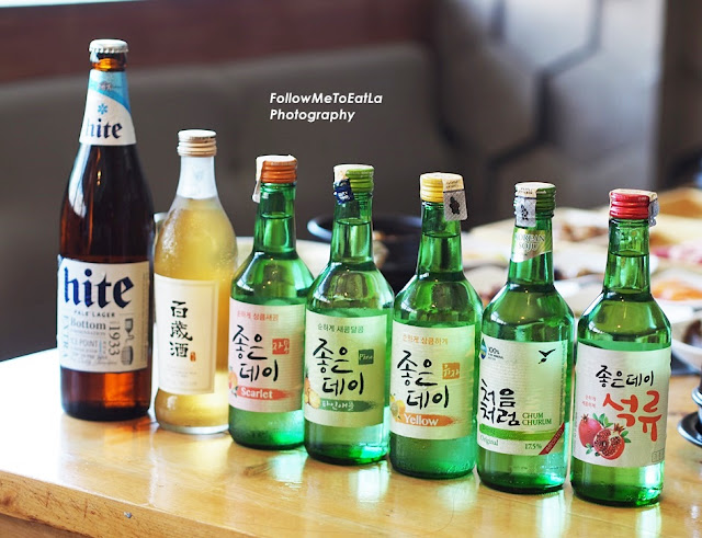 Wide Range Of Soju Imported From Korea