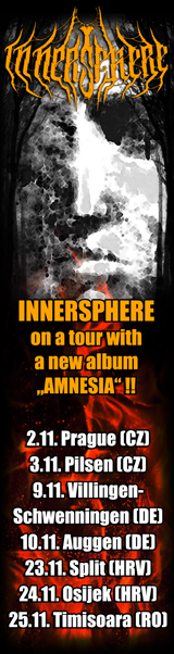 InnerSphere - Balkan Tour 2018
