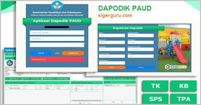Download Dapodik PAUD Versi 3.3.0 Dilengkapi Cara Instalasi