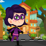 Play Games4King Little Super Girl Rescue
