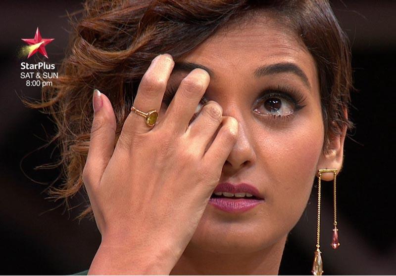 Shakti broke down after feel crew's performance