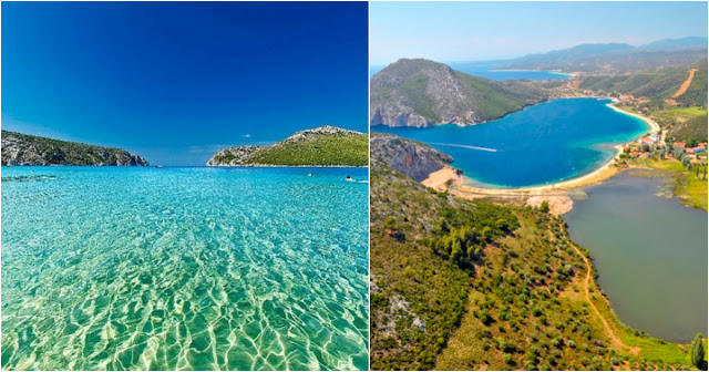 Το μεγαλύτερο και ασφαλέστερο φυσικό λιμάνι στην Ελλάδα έχει εξωτική ομορφιά