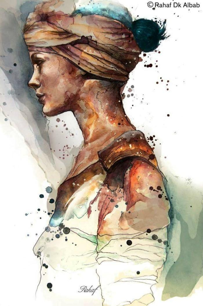 Сирийский художник и иллюстратор