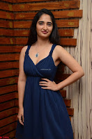 Radhika Mehrotra in a Deep neck Sleeveless Blue Dress at Mirchi Music Awards South 2017 ~  Exclusive Celebrities Galleries 032.jpg