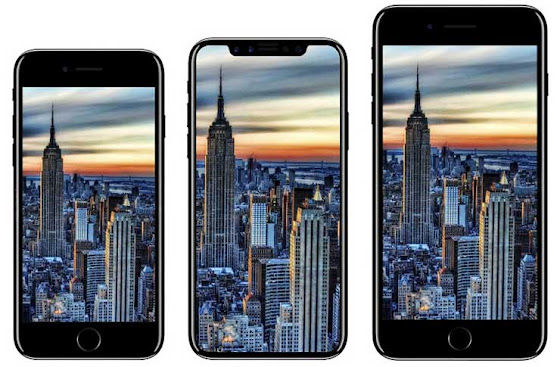 Perbedaan iPhone X dan iPhone 8/8 Plus
