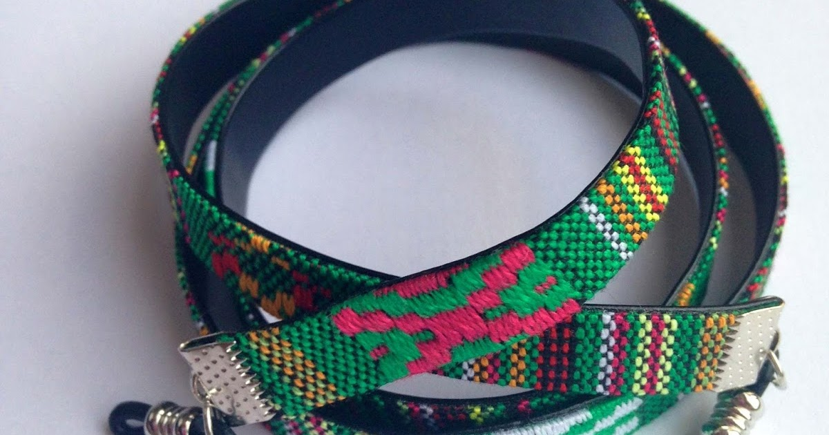 Cordones Étnicos para Gafas  2ec15c423a9