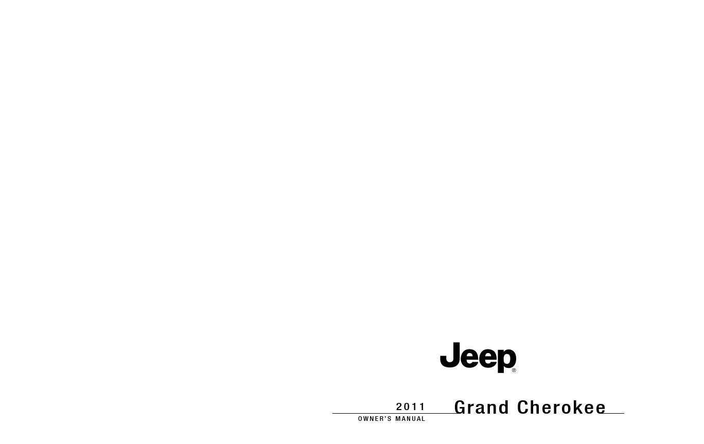 FREE EBOOK OWNER MANUALJEEP GRAND CHEROKEE 2011