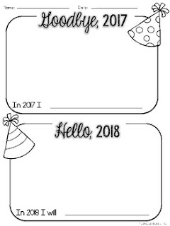 https://www.teacherspayteachers.com/Product/New-Years-2018-Goodbye-2017-Hello-2018-New-Years-Freebie-3538033