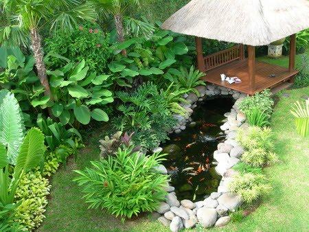 11 taman belakang rumah yang cantik