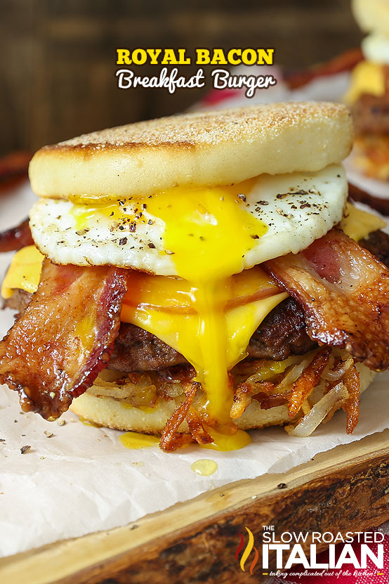 http://www.theslowroasteditalian.com/2016/02/royal-bacon-breakfast-burger.html