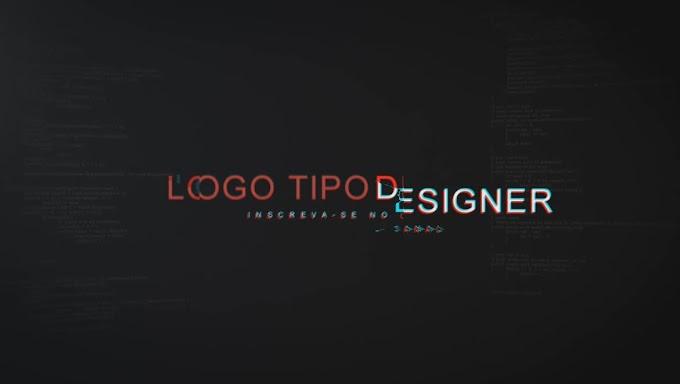 Logo Tipo Designer Editavel #13 Introdução Youtube Gratis Agosto 2018 Sony Vegas Pro