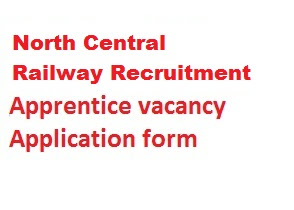 North Central Railway Recruitment 2019