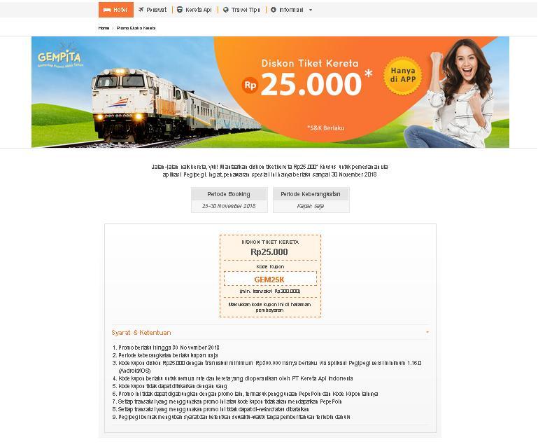 kode promo tiket kereta api pegipegi.com