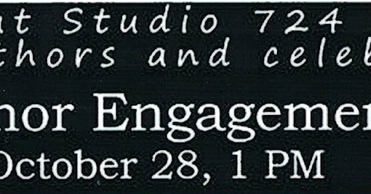 Author's Reading at Studio 724 - Port Orchard