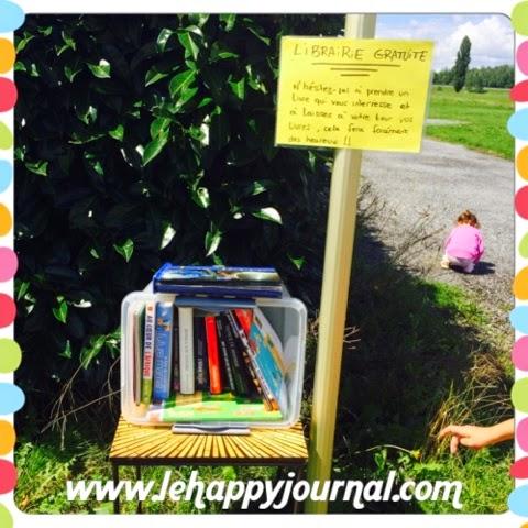 libraire gratuite, free librairie, livres, happy journal