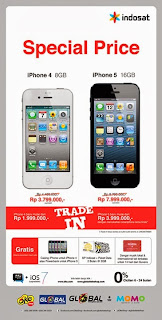 Trikomsel Spesial Harga iPhone Dan Promo Trade In