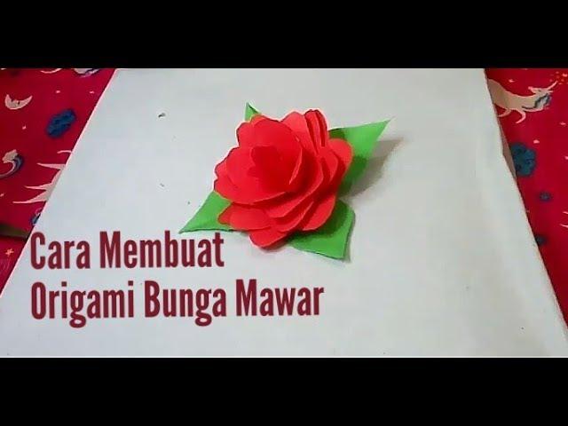 Kumpulan Gambar Bunga Mawar Origami  Paling Baru