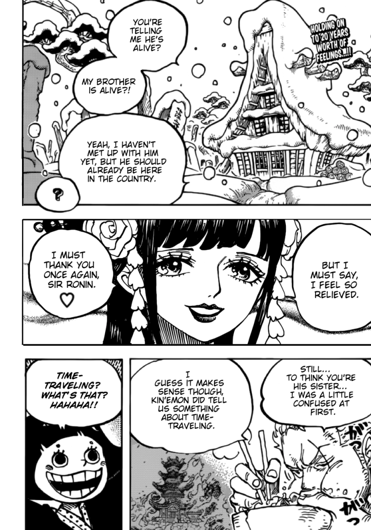 One Piece Chapter 939 - MangaLeer.Com