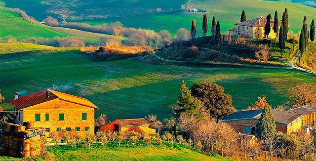 Viagem de trem de Roma a Florença