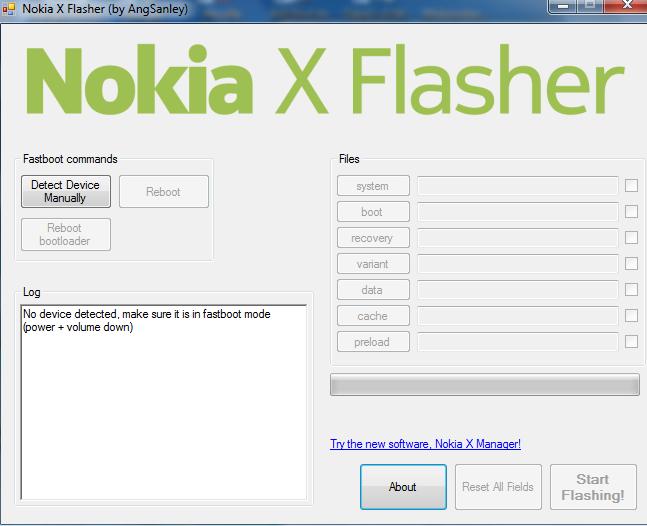 How to flash nokia X,XL with nokia X flasher 2016 - Dara