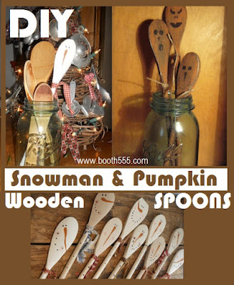 Click here for Halloween Wooden Spoons