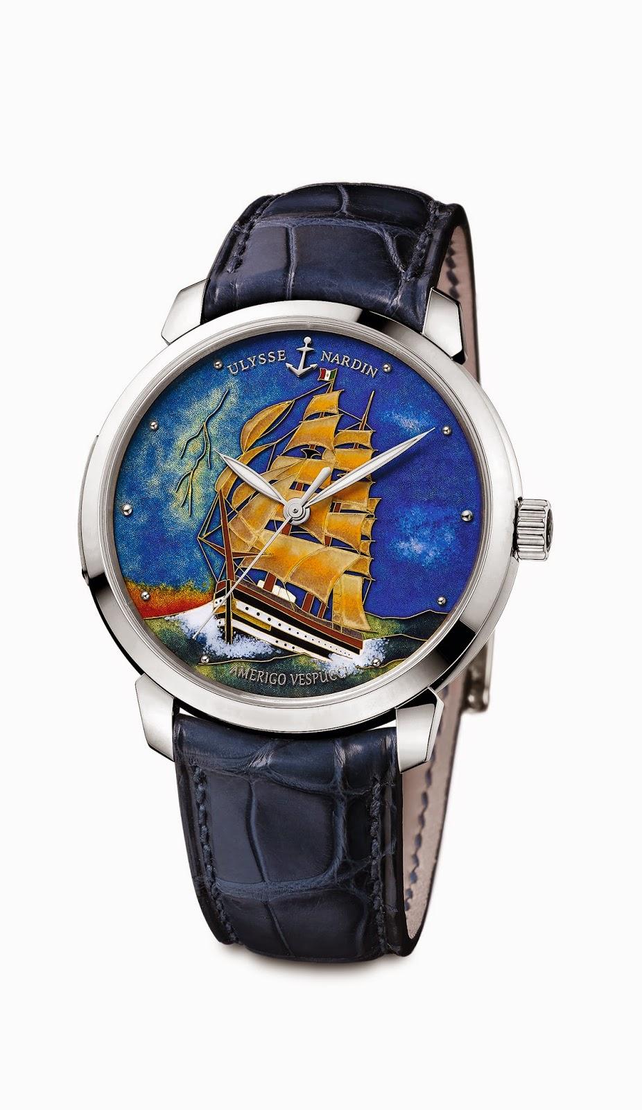 ULYSSE NARDIN reloj 14