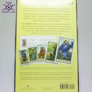 The Druid Craft Tarot - Box (Back)