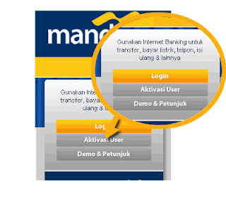mandiri online banking