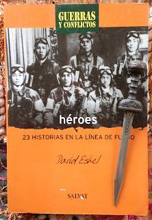 Portada del libro Héroes, de David Eshel